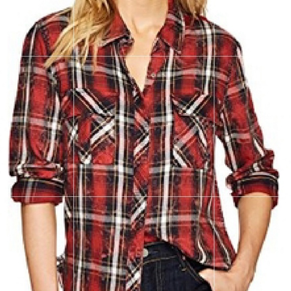 d00e80ac0d5 Hudson Jeans Women s Bijou Button up Shirt